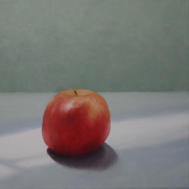 Terry Dower: 'Pink Lady', 2014 Oil Painting, Still Life. Artist Description:         Oil on Canvas                  ...