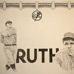 Babe Ruth By Louis Quattrini