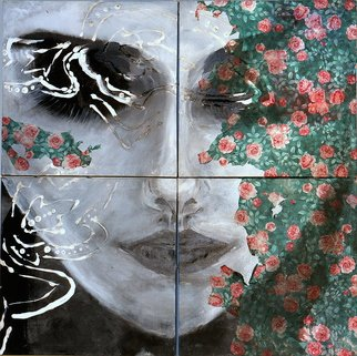Niaz Hekmat Artwork Presence in Both Realities, 2015 Mixed Media, Visionary