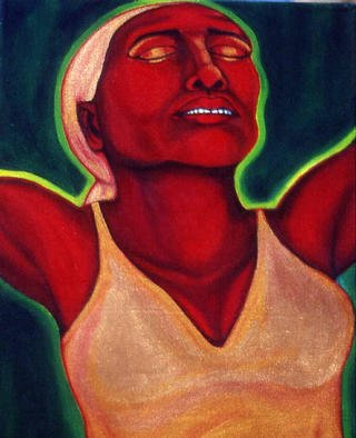 Artist: Nicole Peña - Title: Every Women 2 - Medium: Acrylic Painting - Year: 1998