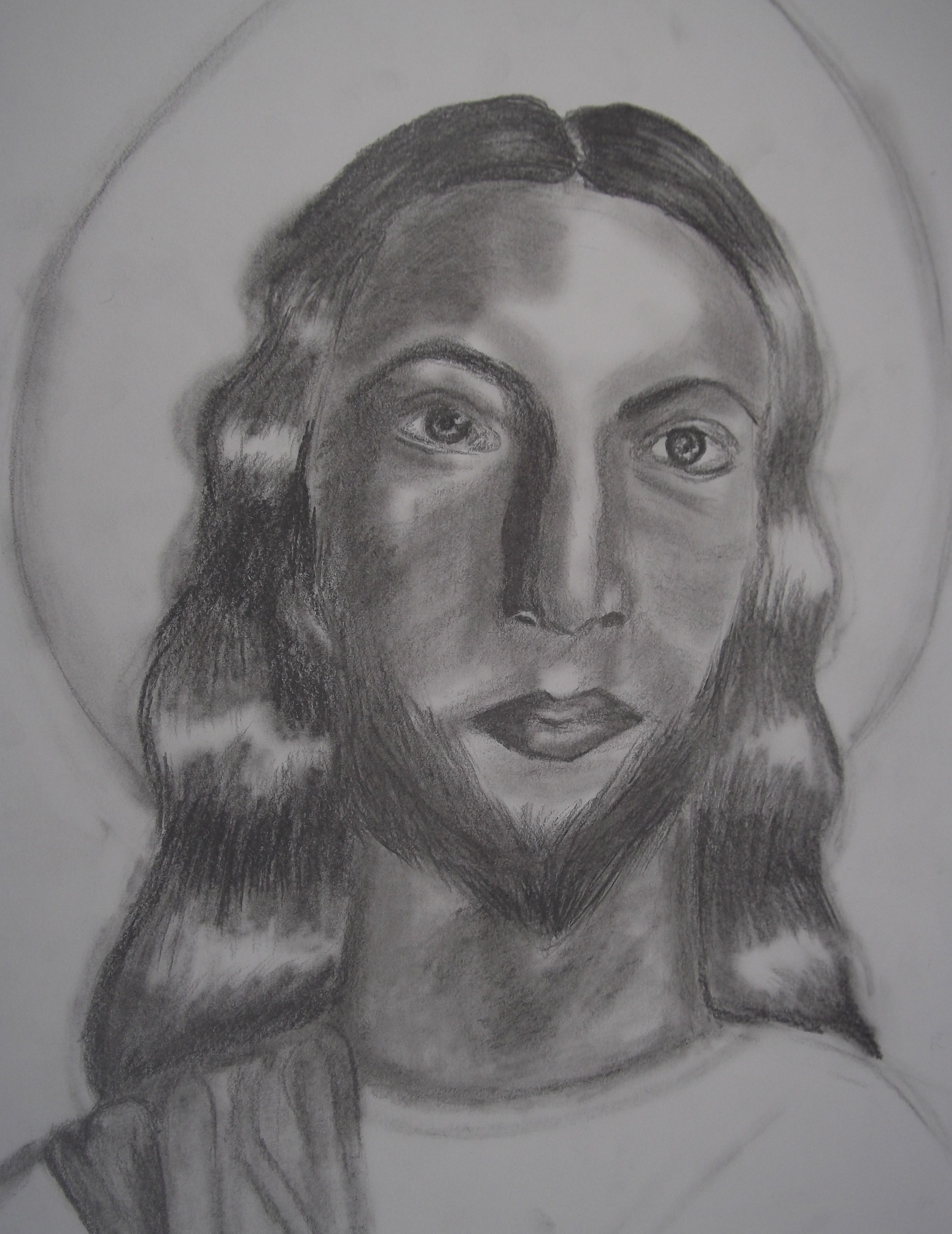 Jesus christ pencil drawing by nicole pereira absolutearts com