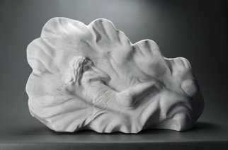 Leslie Dycke: 'Venus in Repose', 2017 Marble Sculpture, nudes. Inspired by the painting The Birth of Venus by Sandro Botticelli my sculpture represents the moment of creation where Venus is dreamed into existence from the void.It is my hope that viewers will feel that dreamlike state and reflect upon when and where these moments of thought transform into ...
