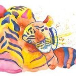 cuddling tigers By Niina Niskanen