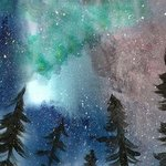 northern lights By Niina Niskanen