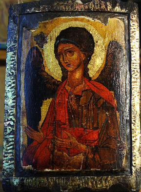 Undefined Medium by Sergey Lesnikov titled: Archangel Michael , 2010
