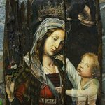 Madonna with the child By Sergey Lesnikov