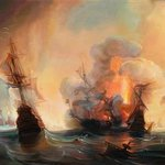 battle of lagos By Sergey Lesnikov