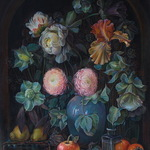 flowers and fruits By Sergey Lesnikov