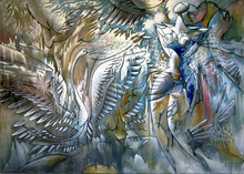 - artwork DANCE_OF_SWAN-1351104110.jpg - 1994, Painting Oil, undecided