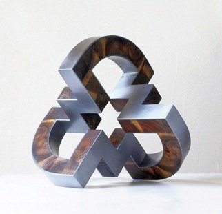 Nikolaus Weiler Artwork before the election, 2017 Wood Sculpture, Abstract