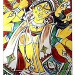Durga Yellow By Man Singh Nirwan
