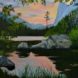 high country twilight By Marilyn Domilski