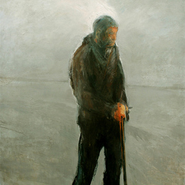 Man with Stick