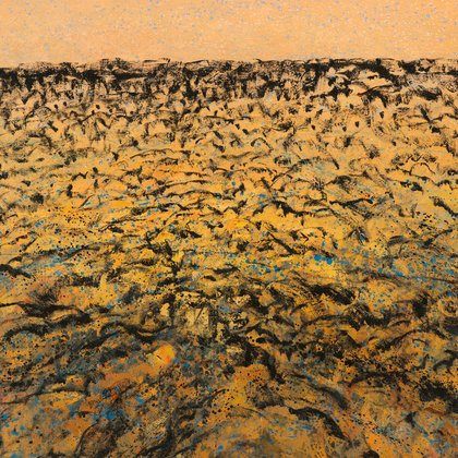 , Desertscape, Abstract Landscape, $8,925
