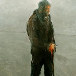 , Man With Stick, Figurative, $19,425