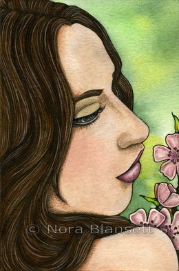 Artist: Nora Blansett - Title: I Remember - Medium: Watercolor - Year: 2012