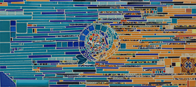 Nora Cervino  'Memory', created in 2008, Original Mosaic.