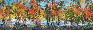 Nora Franko Artwork algonquin autumn, 2017 Oil Painting, Abstract Landscape