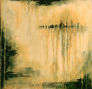 Nora Franko: 'summer rain', 2014 Oil Painting, Abstract. Artist Description: Original Oil Painting on Gallery Wrapped Canvas.Ambiguity of land and sky. A lonely island, in fading city as an old map just found. ...