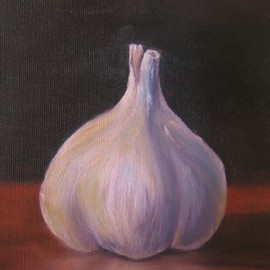 S�ren Nordenstr�m Artwork Garlic, 2008 Oil Painting, Nature