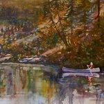 Adirondack Mountains High Peaks Canoe Adk, William Christopherson