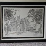 Keewaydin Mansion Framed By William Christopherson