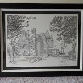 Keewaydin Mansion Framed