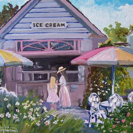 Sackets Harbor Ice Cream Oil Original