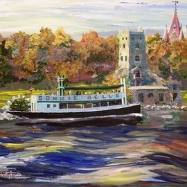 Saint Lawrence Boldt Castle Bonnie Belle