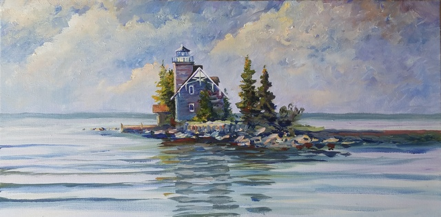 William Christopherson Sisters Island Lighthouse 2018