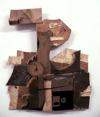 Giorgos Nouvakis: 'Scraps 12', 2016 Assemblage, Abstract Figurative. Artist Description:  Nouvakis, Greek Artists, European Artists, Spanish Artists, Mixed Media, Assemblage, Recycled Materials,MORE PHOTOS  INFO AT