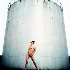Thomas Schweizer Artwork Tower, 2007 Color Photograph, Nudes