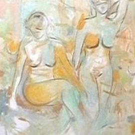 Nutan Shukla: 'Nudes', 2004 Oil Painting, Nudes. Artist Description: Oil on Canvas...