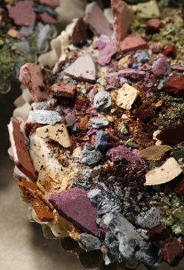Naomi White: 'Eyeshadow Cupcake', 2007 Color Photograph, . Artist Description:  From the series The Make- Up Eaters ...
