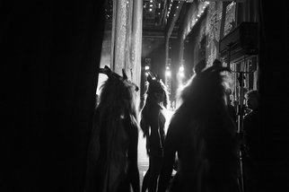 Yulia Nak: 'iv russian ballet', 2016 Black and White Photograph, Dance. Artist Description: Dance, black white, theater...