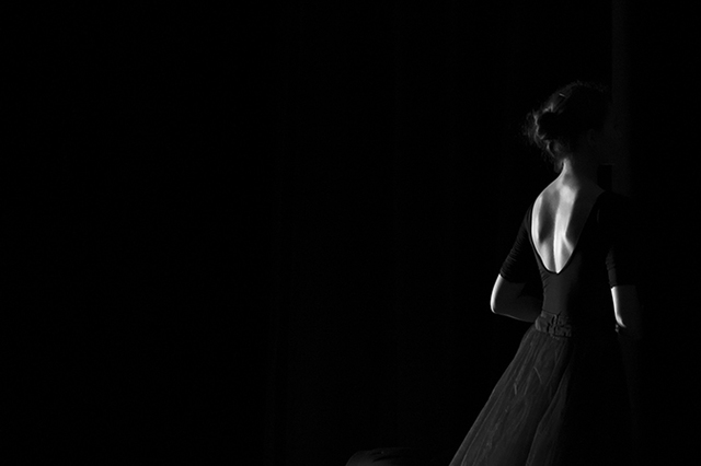 Yulia Nak: ix russian ballet, 2016 Black and White Photograph