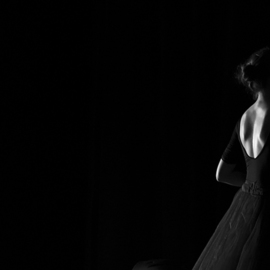 Yulia Nak: 'ix russian ballet', 2016 Black and White Photograph, Dance. Artist Description: Dance, black white, theater...