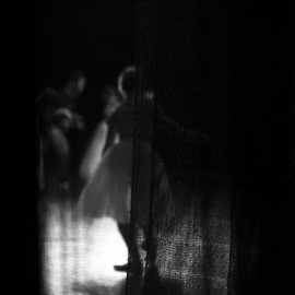 Yulia Nak: 'xi russian ballet', 2016 Black and White Photograph, Dance. Artist Description: Dance, black white, theater...