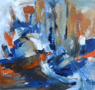 Olga Beblova Artwork forest on the lake, 2014 Acrylic Painting, Abstract