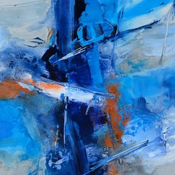 , The Mast, Abstract, $1,050