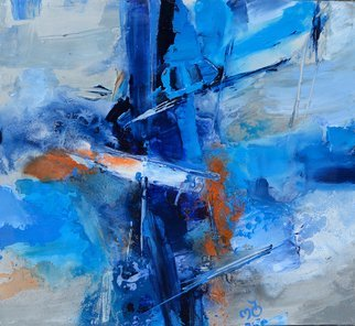 Olga Beblova Artwork the mast, 2016 Acrylic Painting, Abstract
