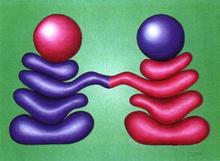 - artwork Rendevous-1018806821.jpg - 1999, Painting Oil, Figurative