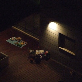 Orly Droval: 'dark', 2010 Color Photograph, Outsider. Artist Description:  night dark home    ...