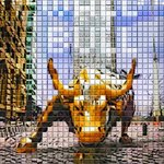 the wall st bull By Oleg Filin