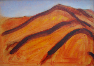 Artist: Ron Ogle - Title: 30 Square Inch Landscape - Medium: Oil Painting - Year: 2008