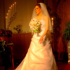 Ron Ogle: 'Brittany', 2007 Color Photograph, Love. Artist Description:  At her wedding. ...