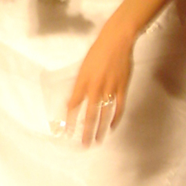 Ron Ogle: 'Brittany DETAIL', 2007 Color Photograph, Love. Artist Description:  Her ring hand. ...