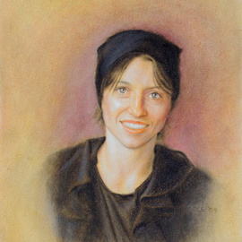 Ron Ogle: 'Chelsea', 2009 Oil Painting, Portrait. Artist Description:   my latest portrait....