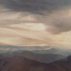 Clouds Over Mount Pisgah