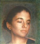 Artist: Ron Ogle, title: Katie 1, 2006, Painting Oil
